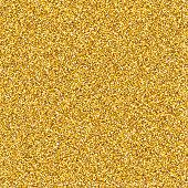 Golden Glitter Texture