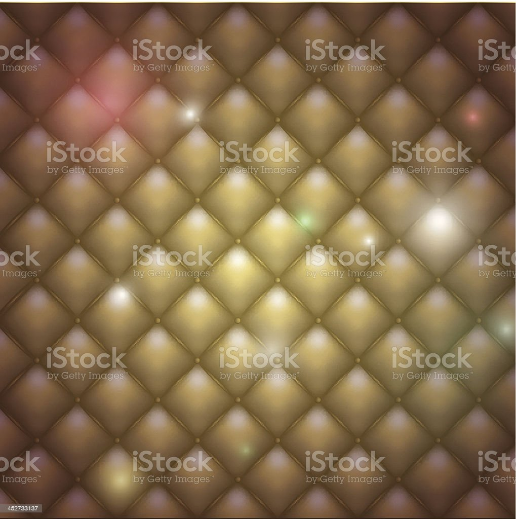 Golden leather background royalty-free stock vector art