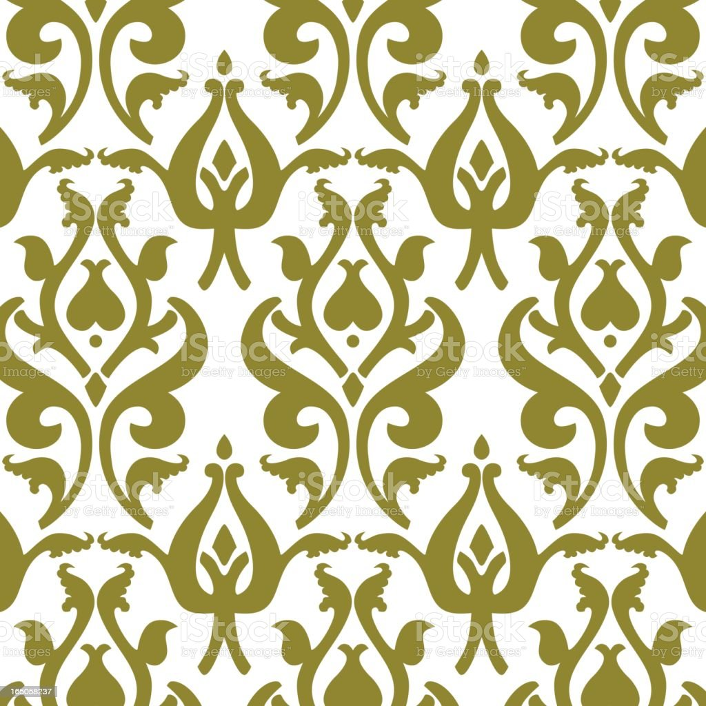 Golden ornamental background royalty-free stock vector art