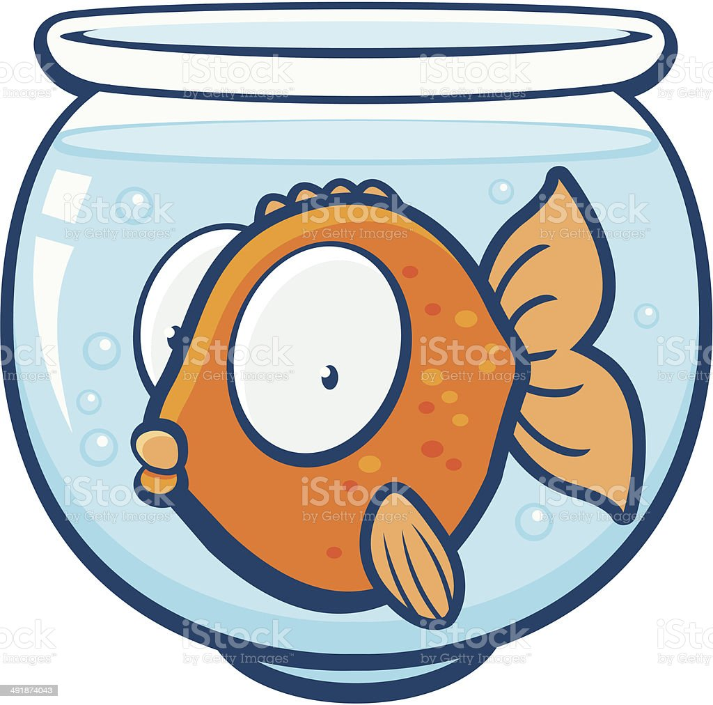 clip art of a fish bowl clip art vector images illustrations istock rh istockphoto com fish bowl clipart black and white
