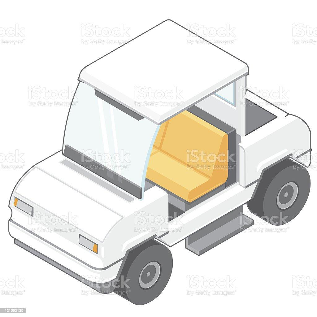 Golf Cart Buggy royalty-free stock vector art