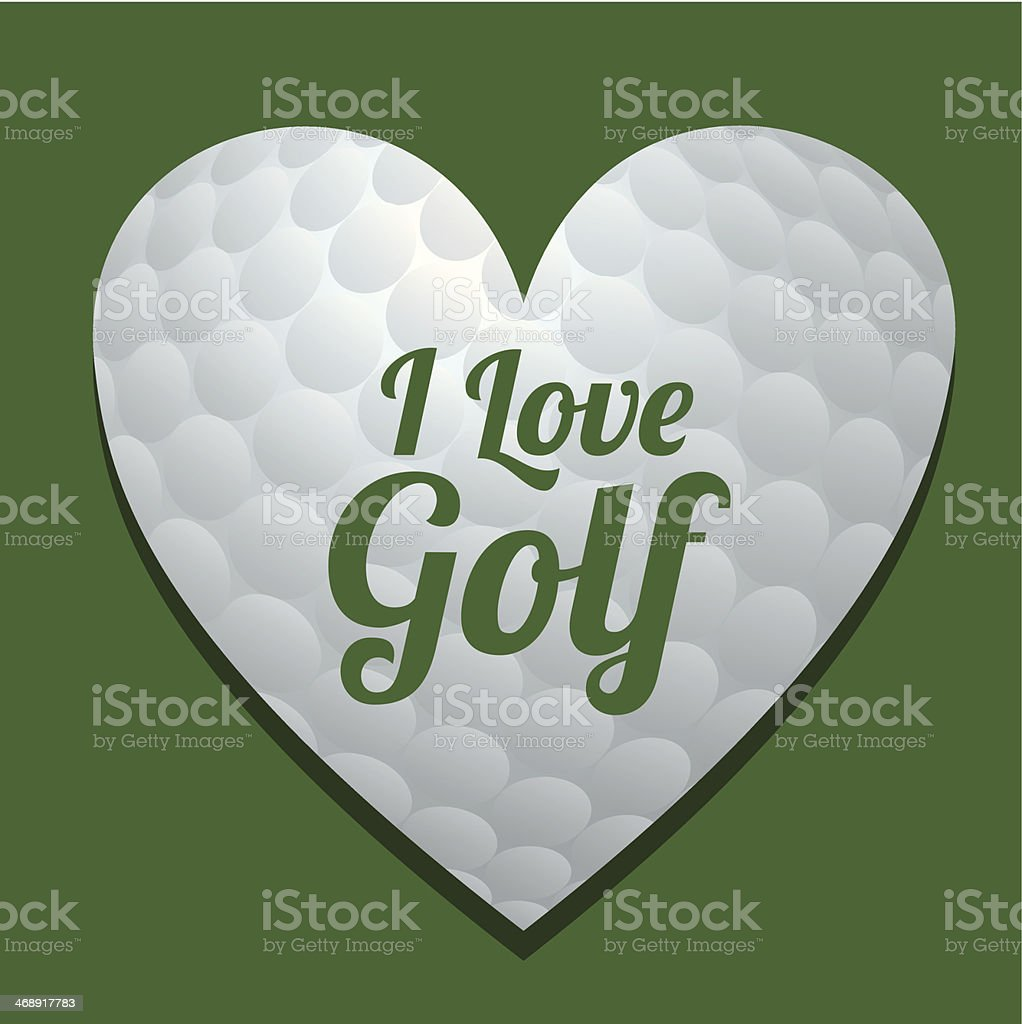 Golf Design royalty-free stock vector art