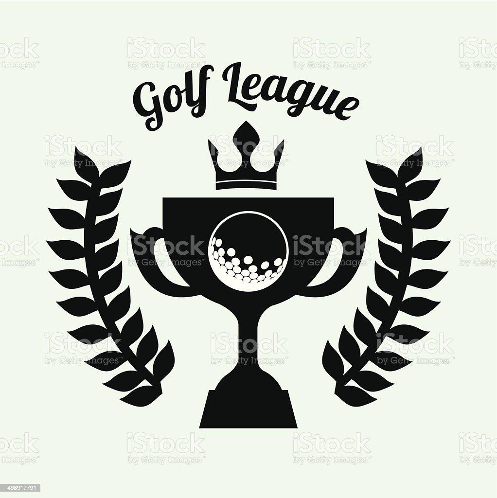 Golf Design royalty-free stock vector art