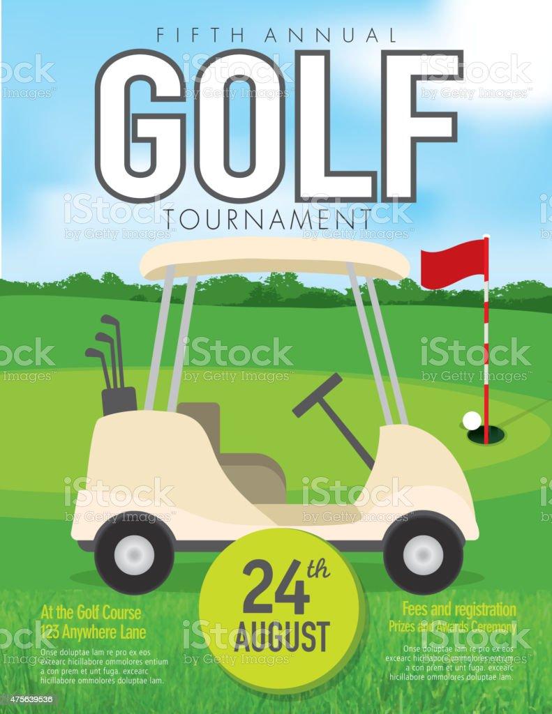 Golf Cart Tournament Cards Template Images Golf Tournament - Free golf tournament flyer template