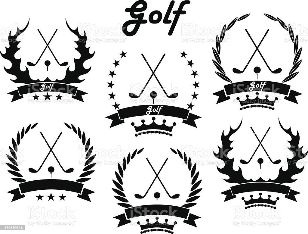 Golf royalty-free stock vector art