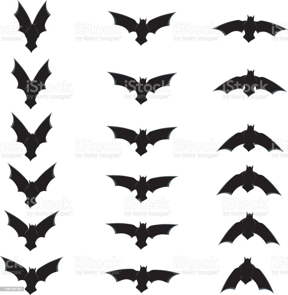 Gone Batty royalty-free stock vector art