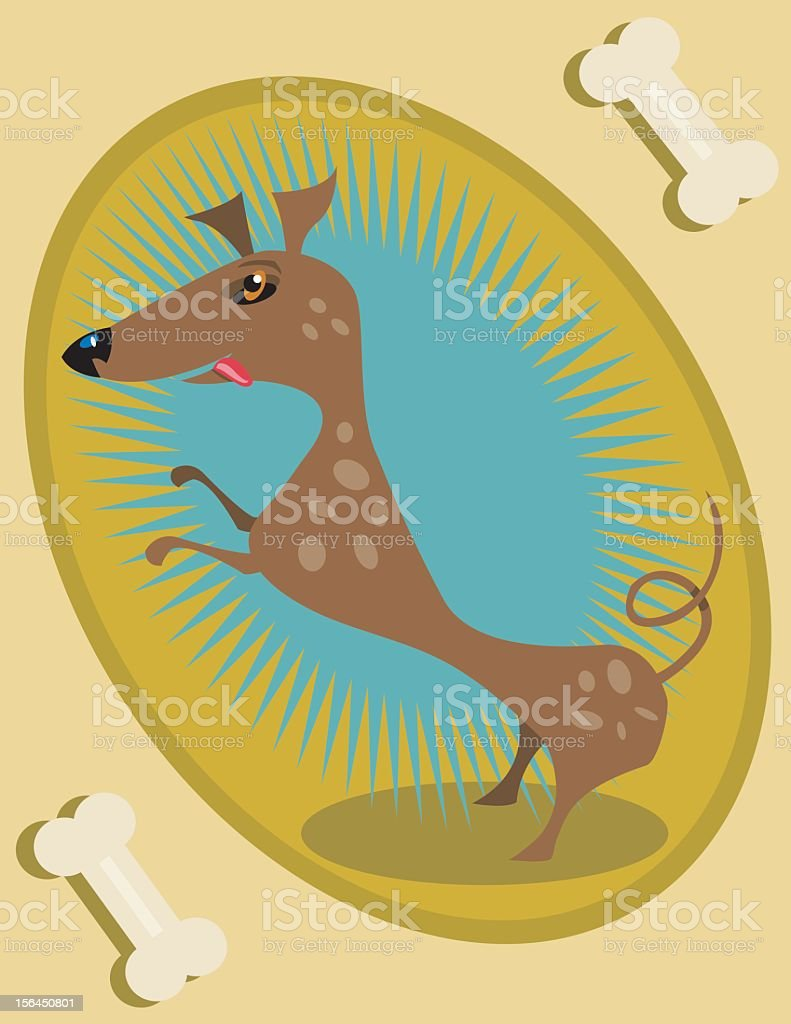 Good Boy royalty-free stock vector art
