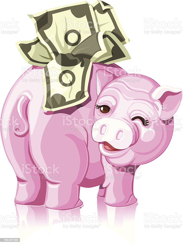 Good Finance royalty-free stock vector art