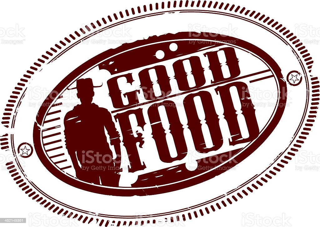 Good food royalty-free stock vector art