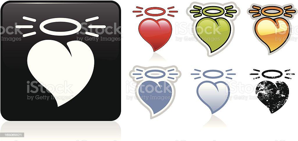 Good Heart Icon vector art illustration