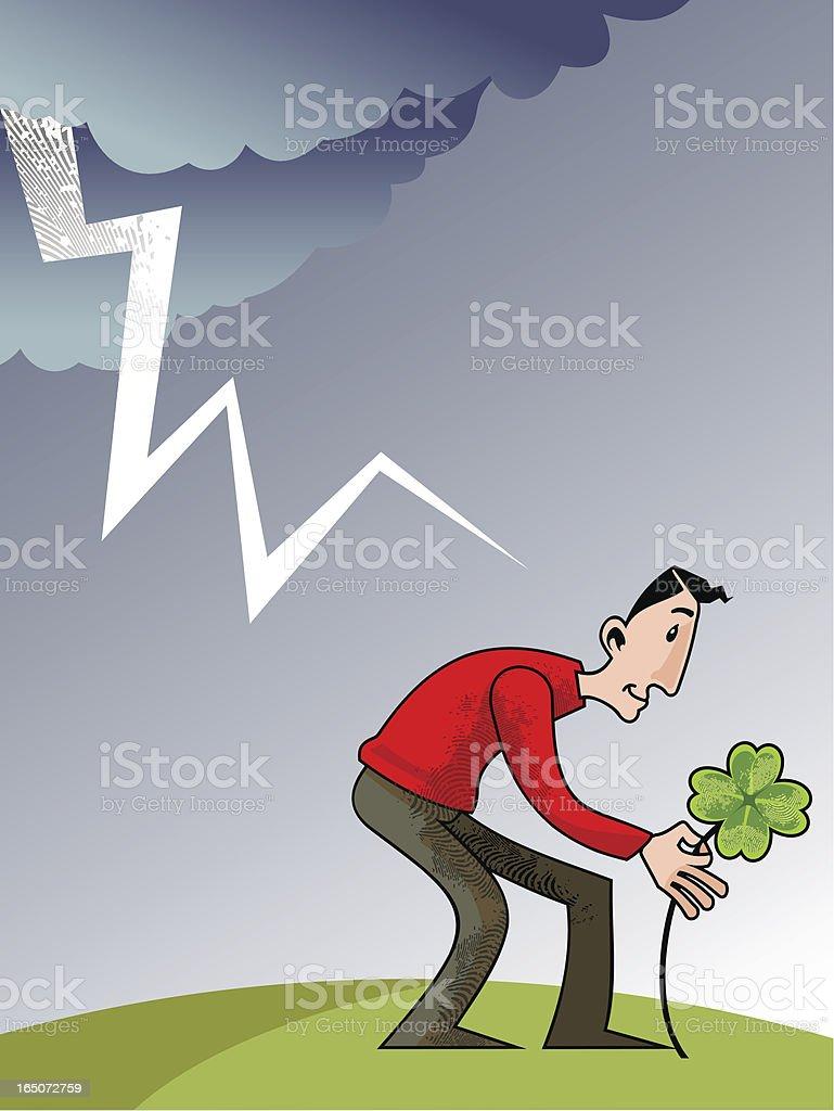 good luck royalty-free stock vector art
