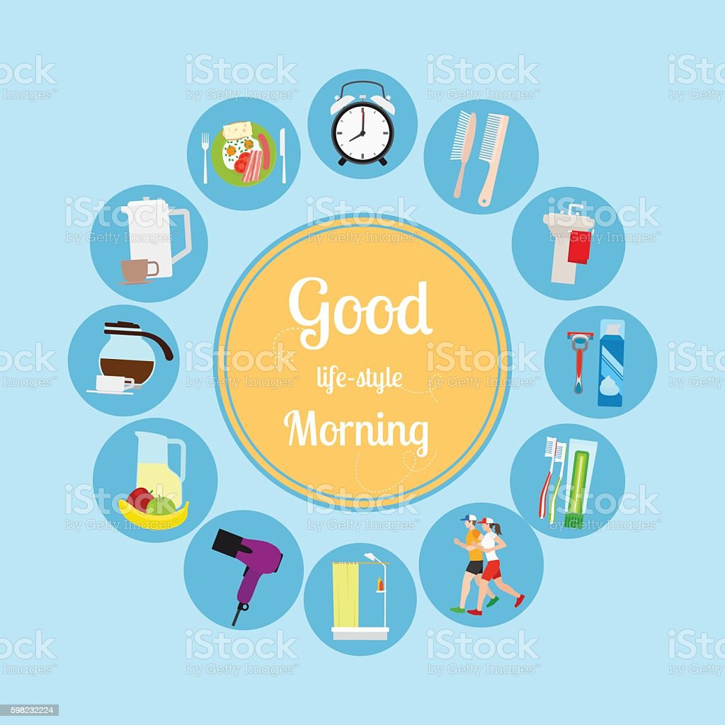 good morning new day background のイラスト素材 598232224 istock