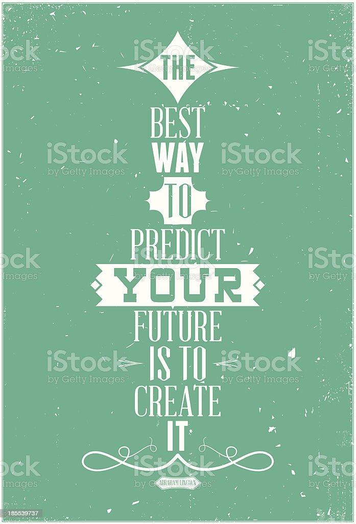 Good phrase per day royalty-free stock vector art
