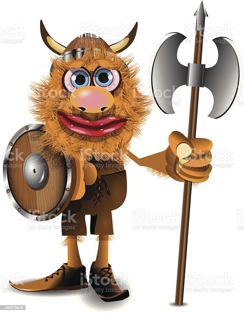 good viking royalty-free stock vector art