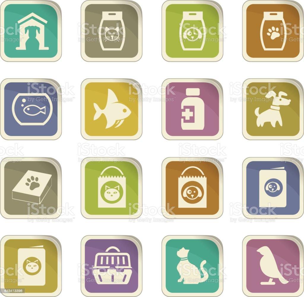 Goods_for_pets_9 vector art illustration