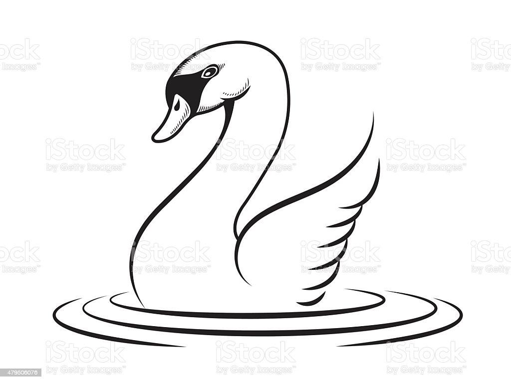 goose vector vector art illustration
