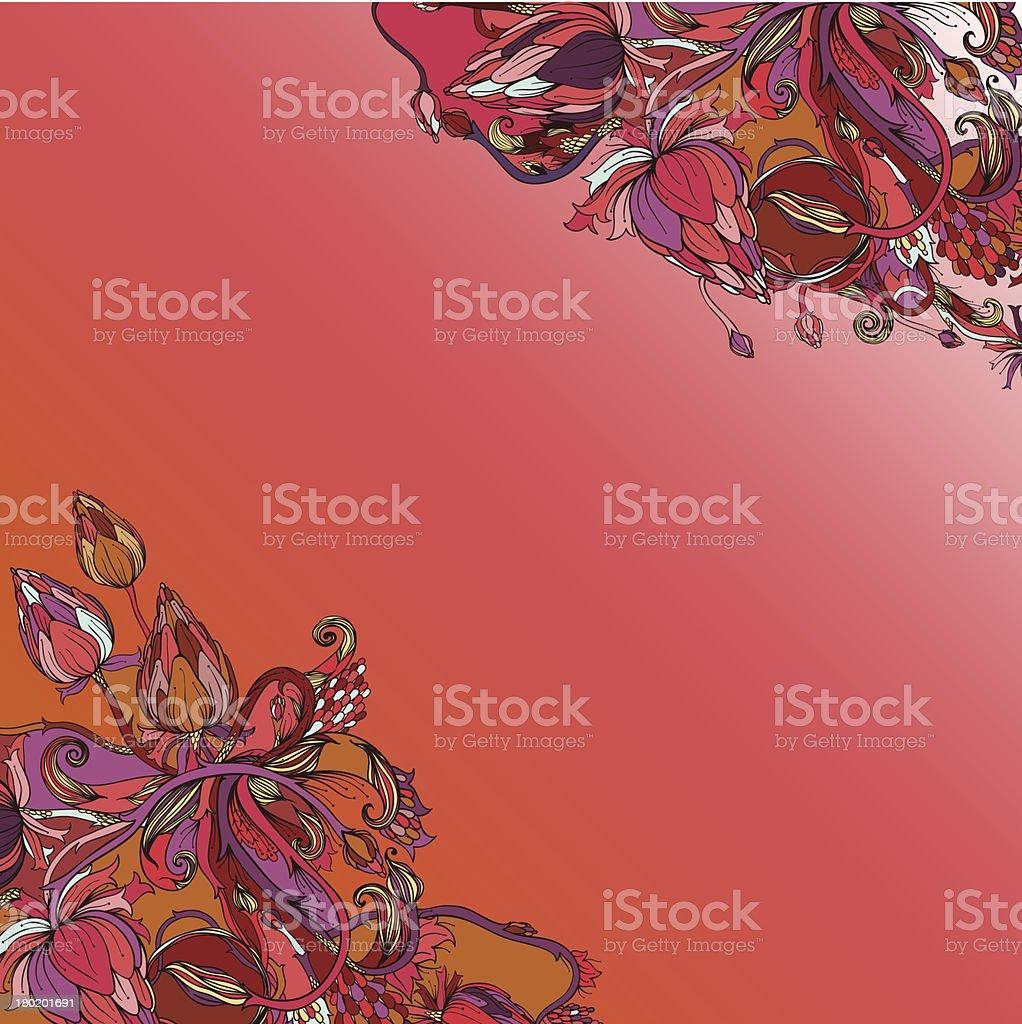 Gorgeous autumn royalty-free stock vector art