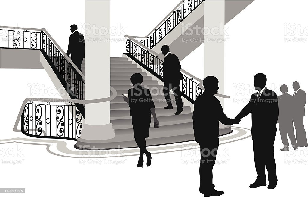 Government Vector Silhouette vector art illustration