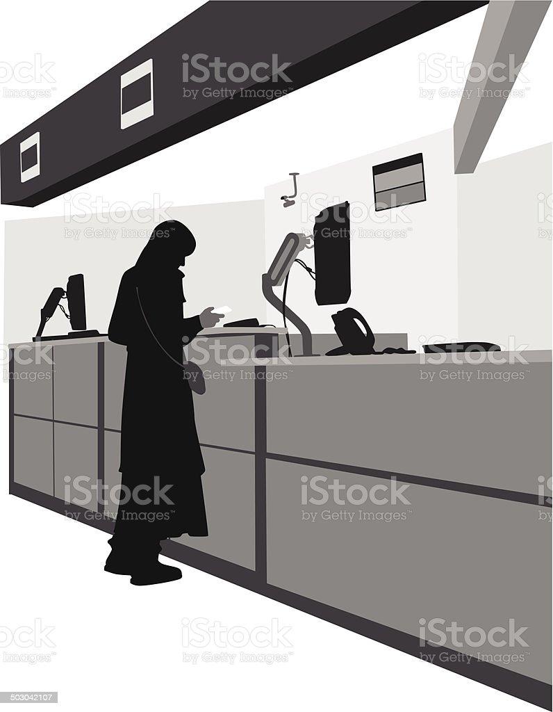 GovernmentIssuedID vector art illustration