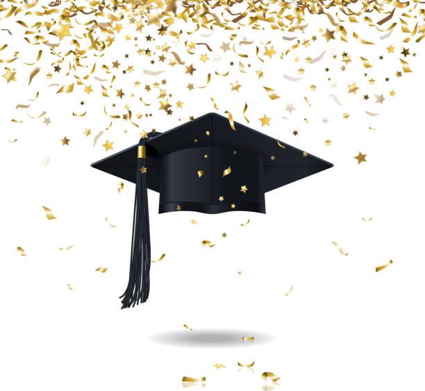 Graduation Party Clip Art, Vector Images & Illustrations ...