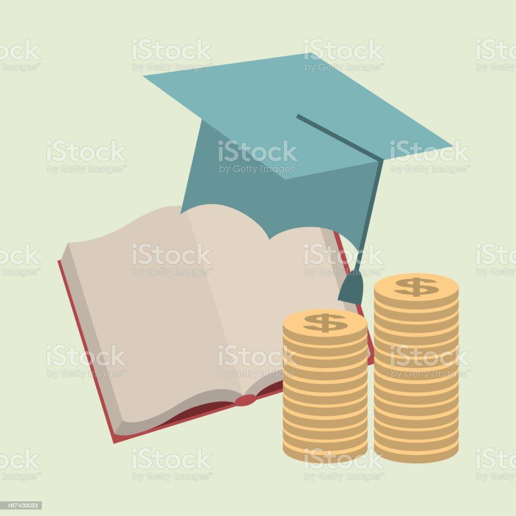 Graduation Design royalty-free stock vector art