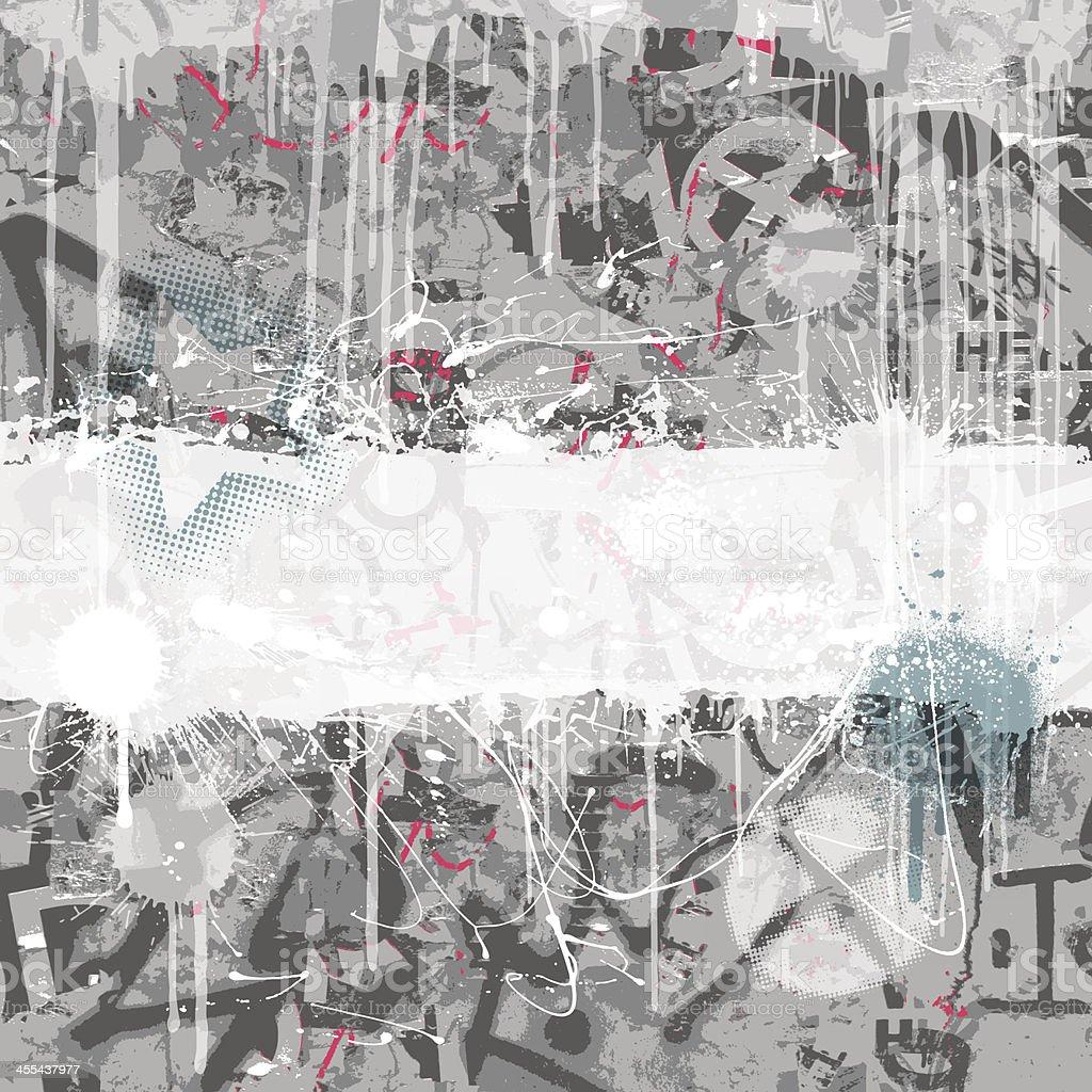 Graffiti Background vector art illustration