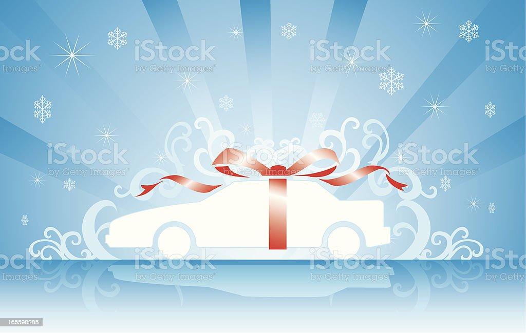 Grand Gift royalty-free stock vector art
