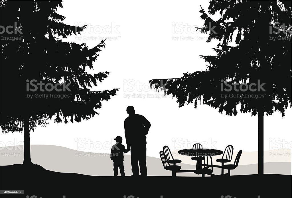 Grandson royalty-free stock vector art