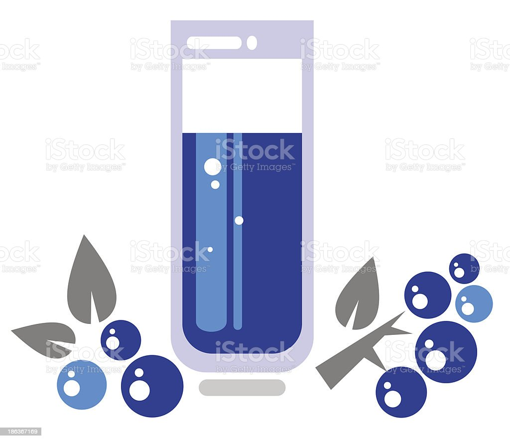 grape juice royalty-free stock vector art