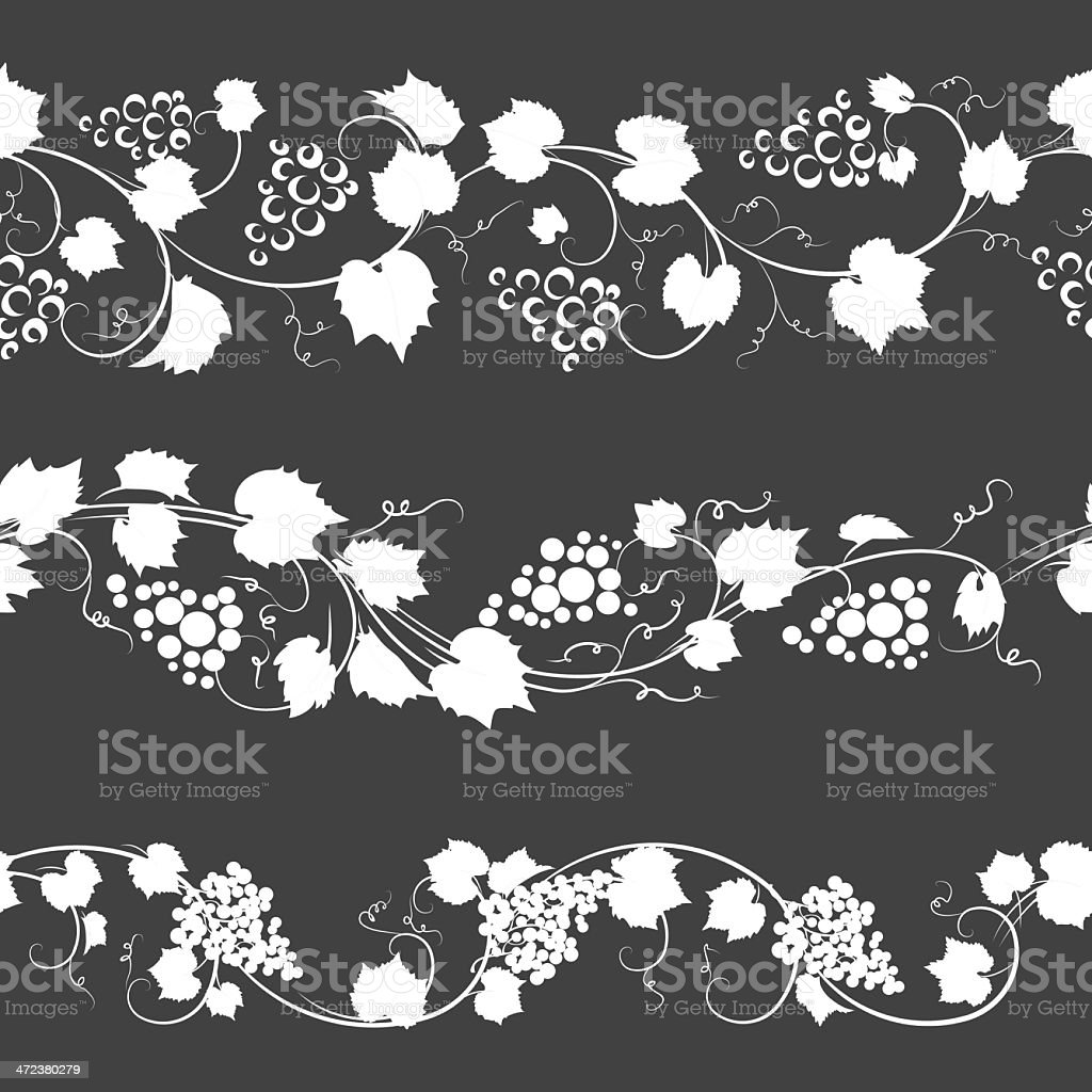 grapes pattern royalty-free stock vector art