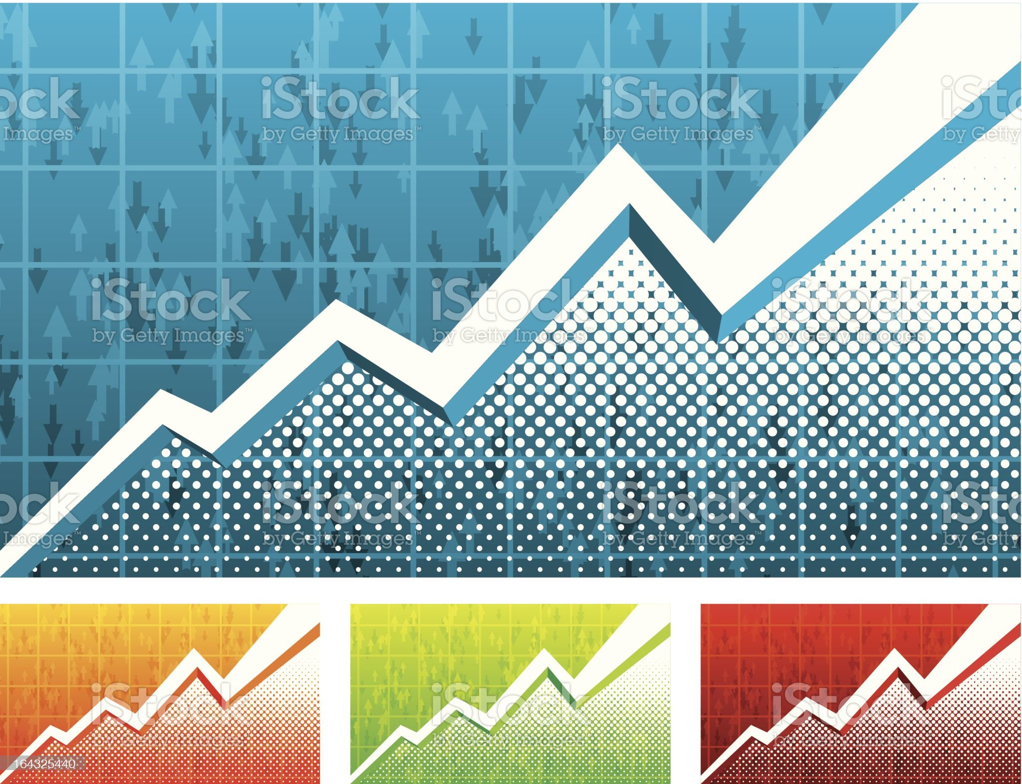 Graph background royalty-free stock vector art