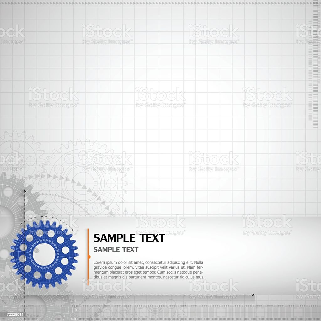 Graph layout abstract technology background royalty-free stock vector art