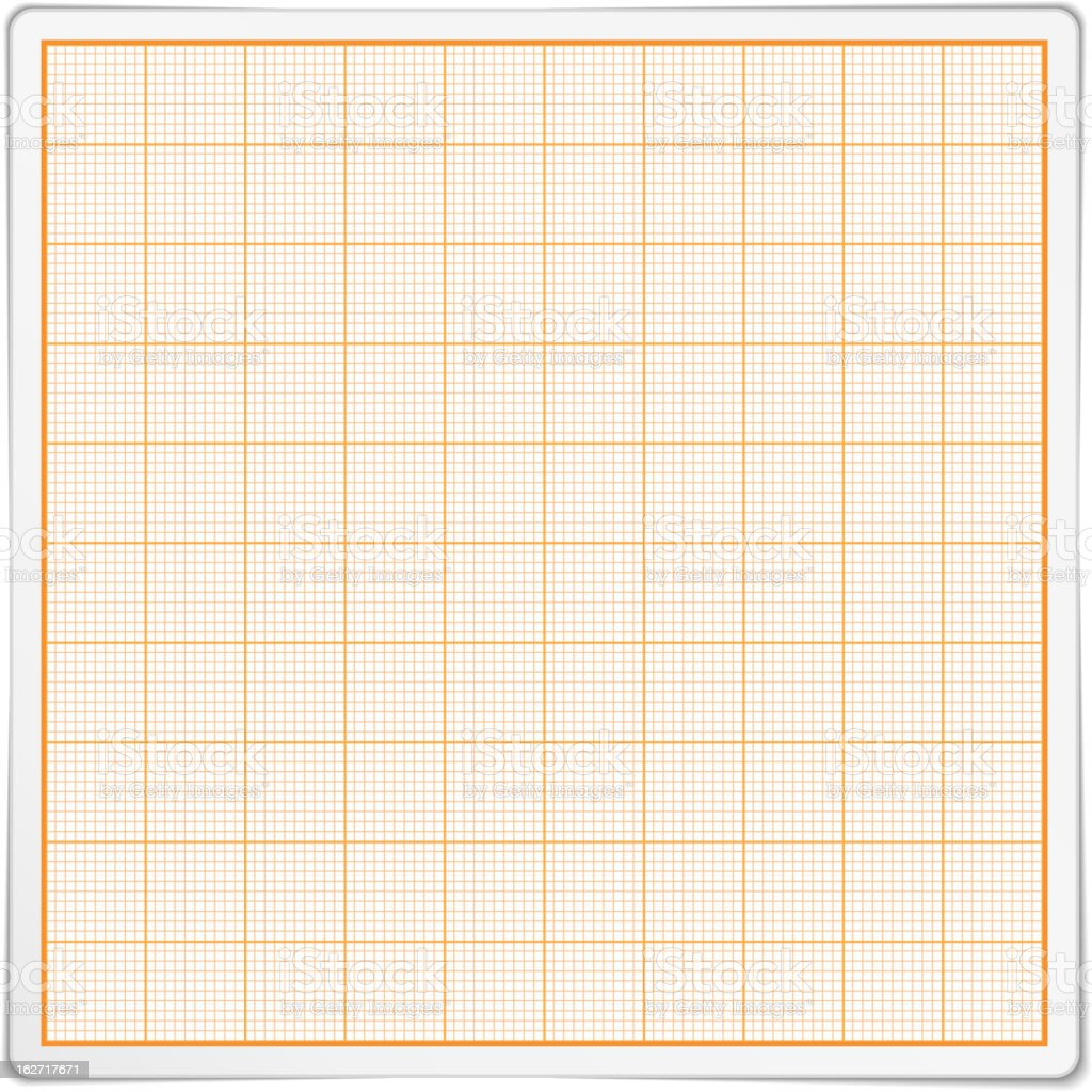 Graph Paper royalty-free stock vector art