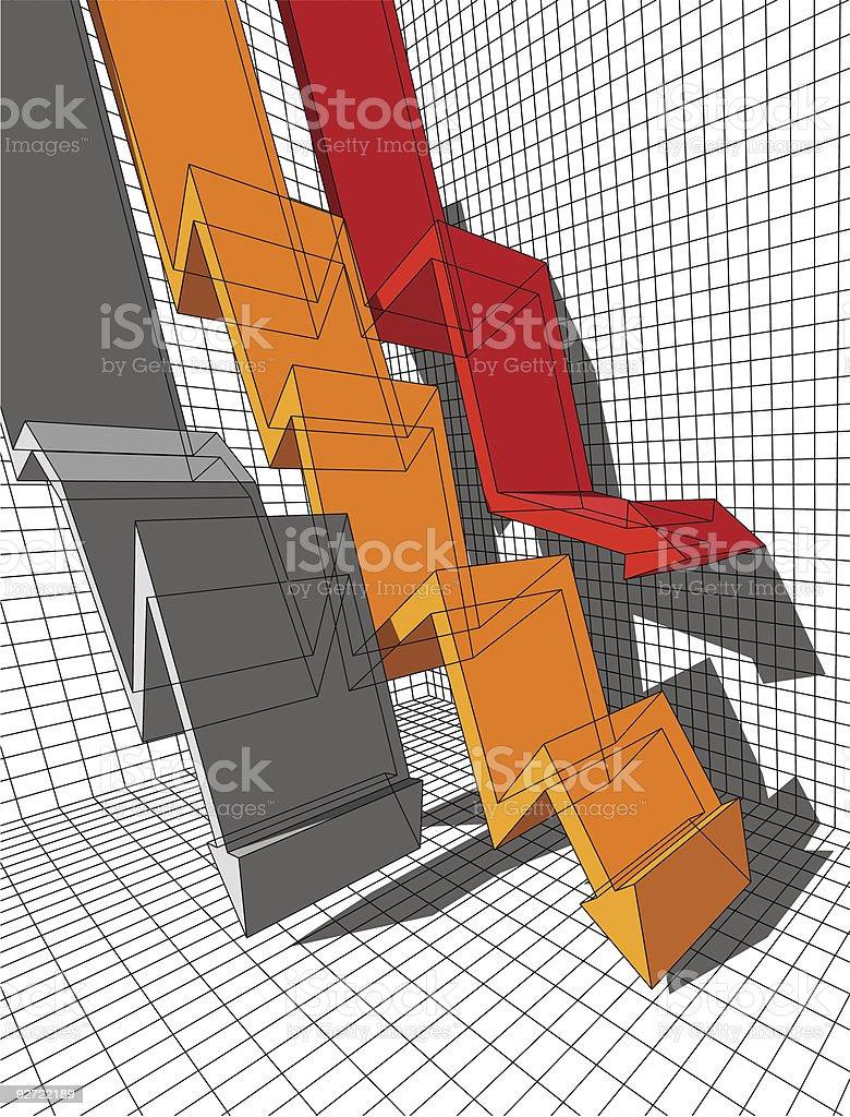 graph royalty-free stock vector art