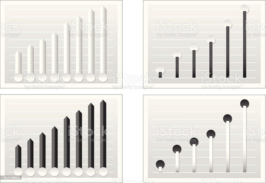 Graphic analysis royalty-free stock vector art