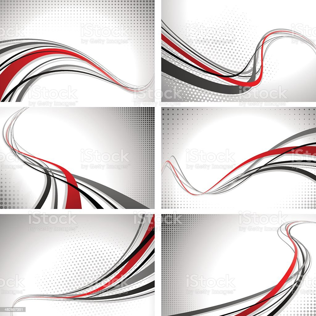 Graphic Backgrounds vector art illustration