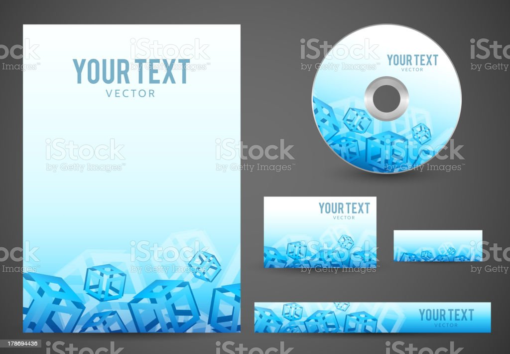 Graphic Business Layout royalty-free stock vector art