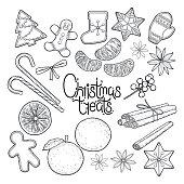 Graphic christmas treats