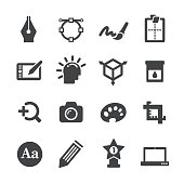 Graphic Design Icons Set - Acme Series