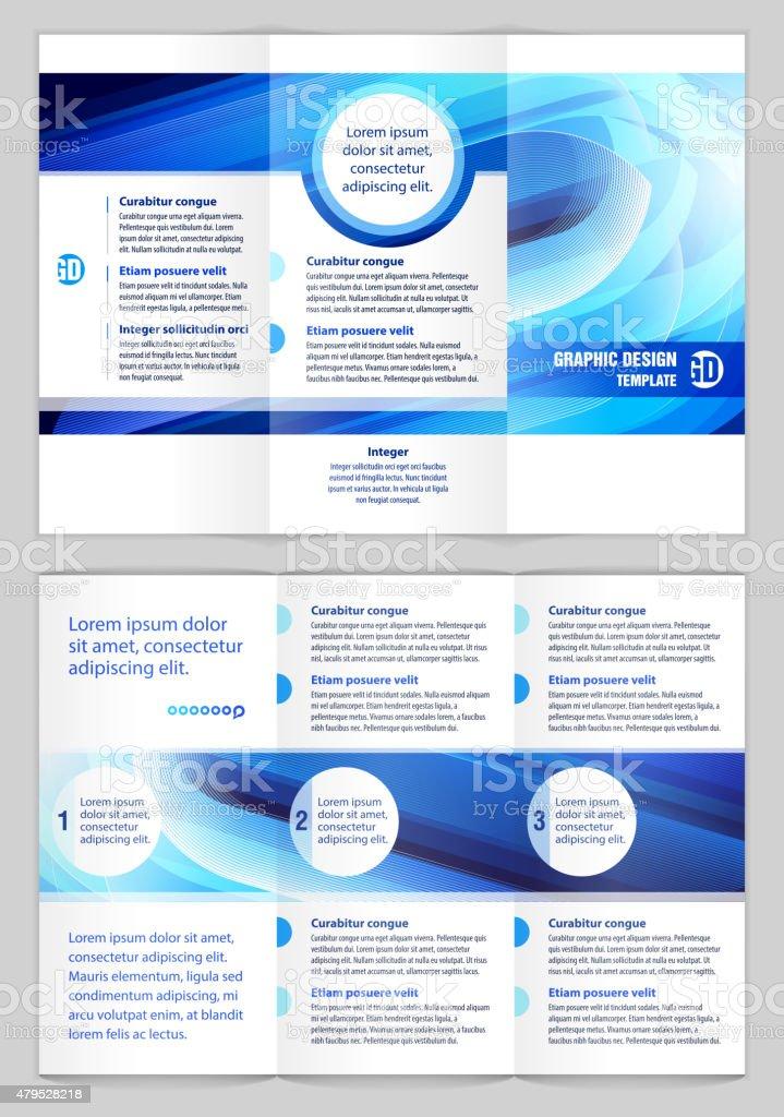 Graphic Design Template vector art illustration