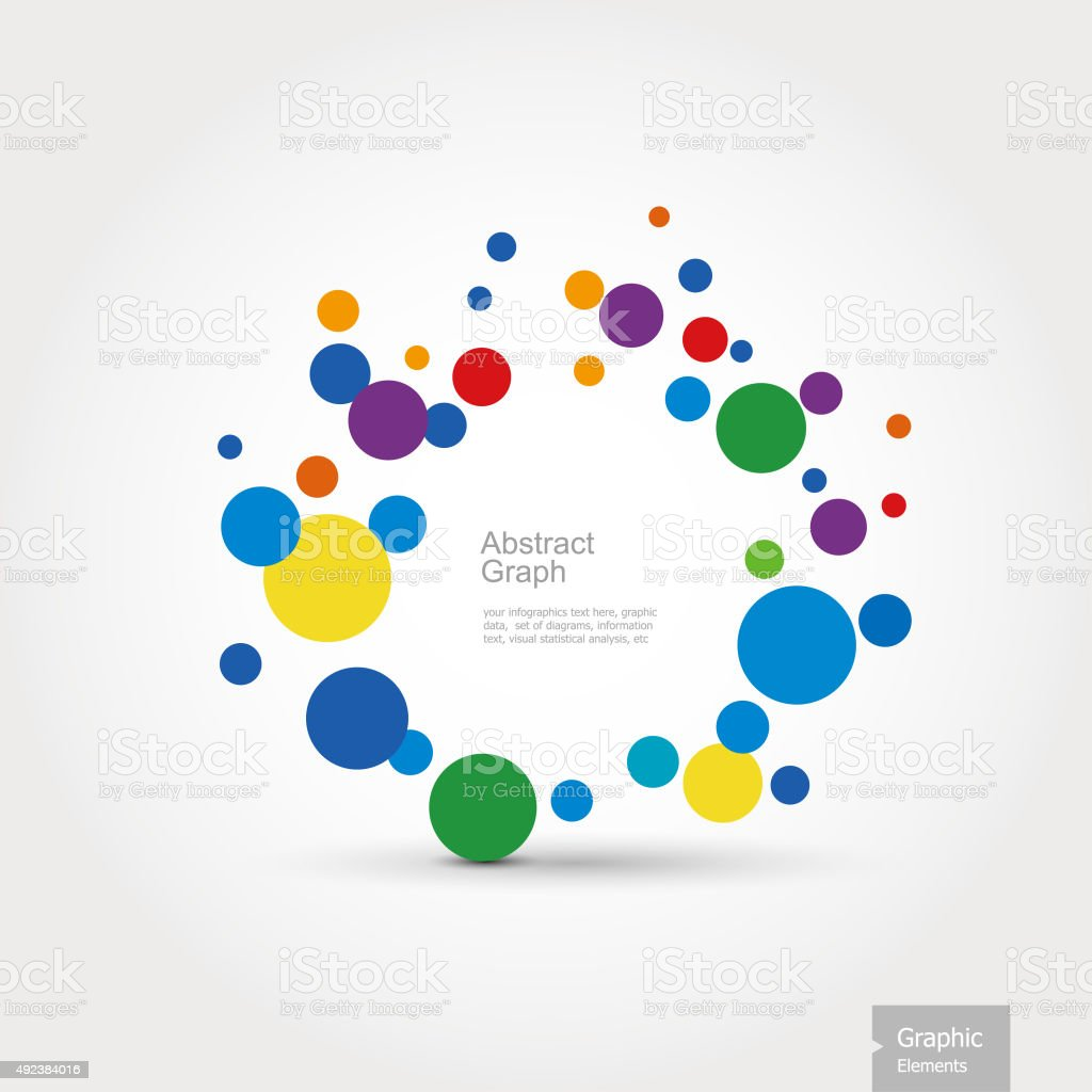 Graphic Elements - Abstract Graph vector art illustration