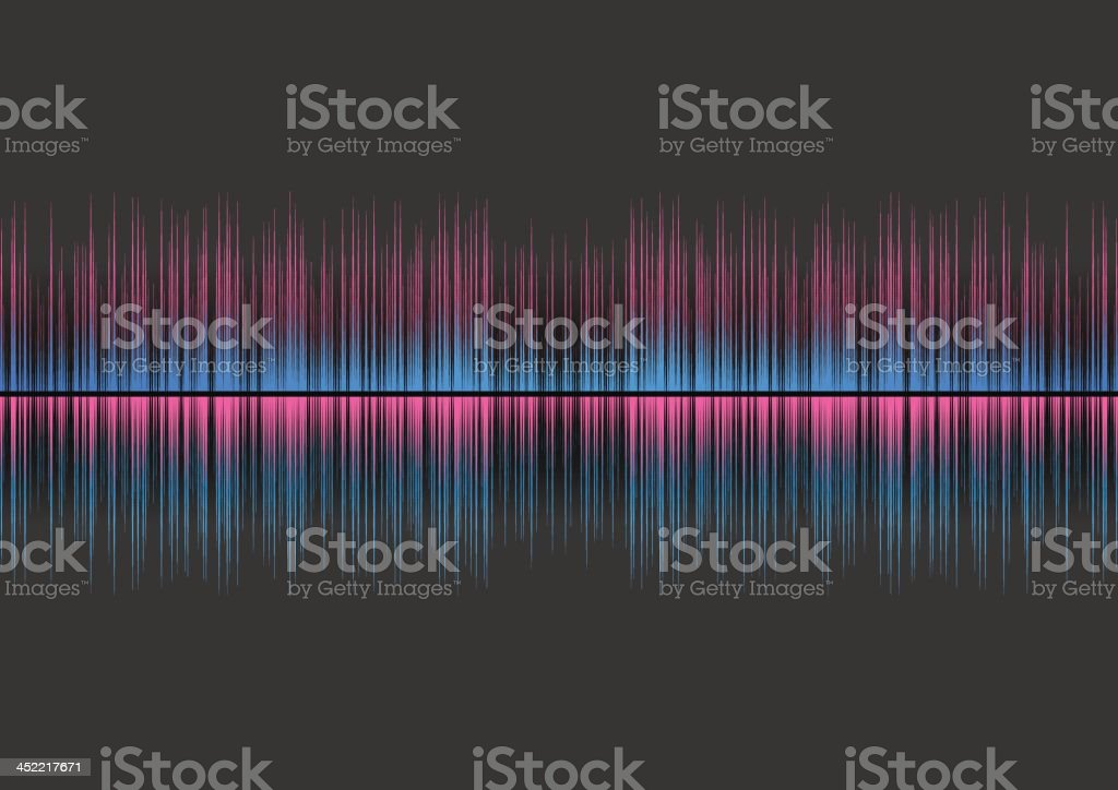 Graphic equalizer royalty-free stock vector art