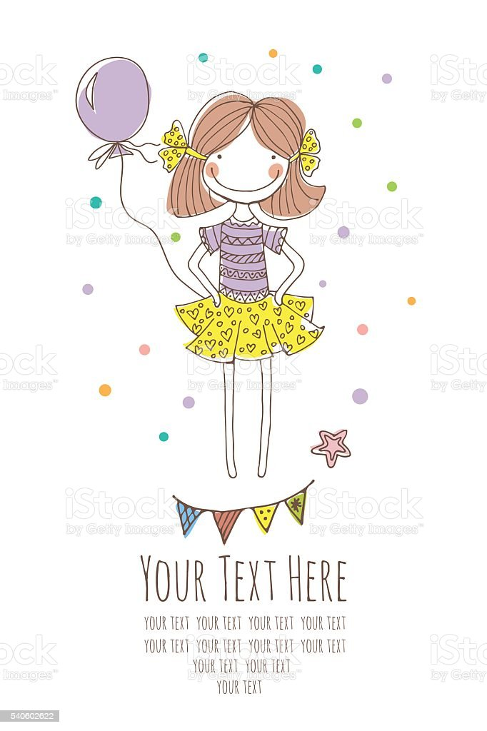 graphic girl royalty-free stock vector art