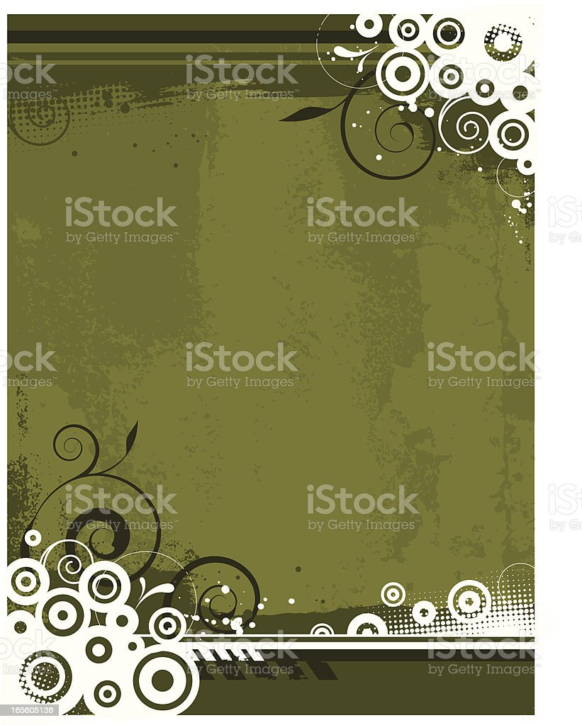 Graphic grunge background royalty-free stock vector art