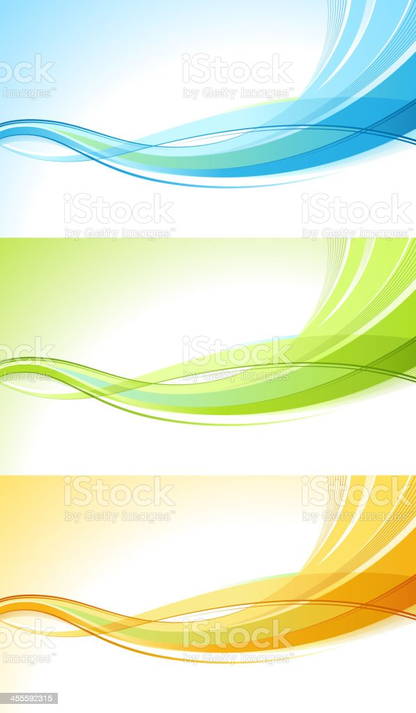 Graphic wave royalty-free stock vector art