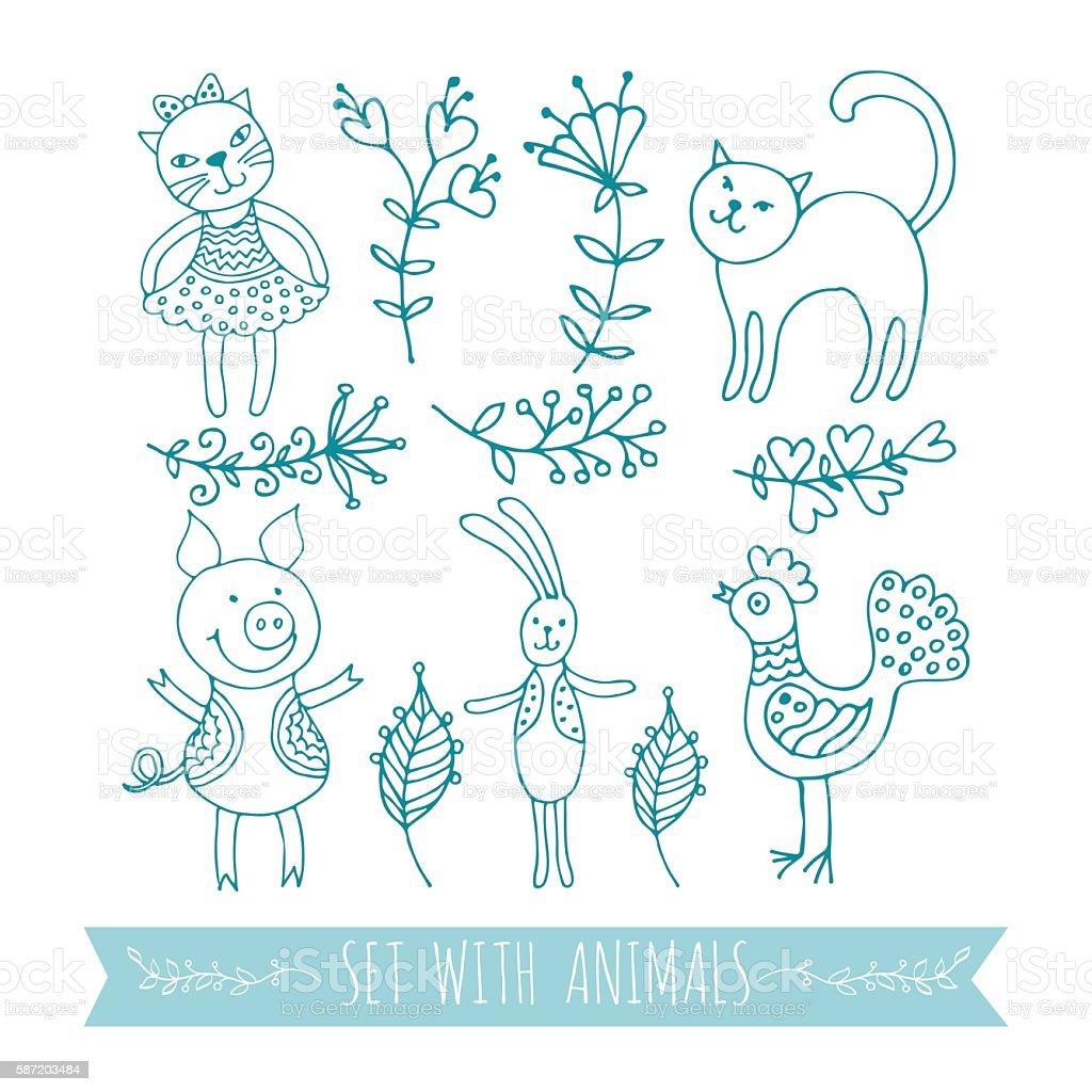 graphics animals royalty-free stock vector art