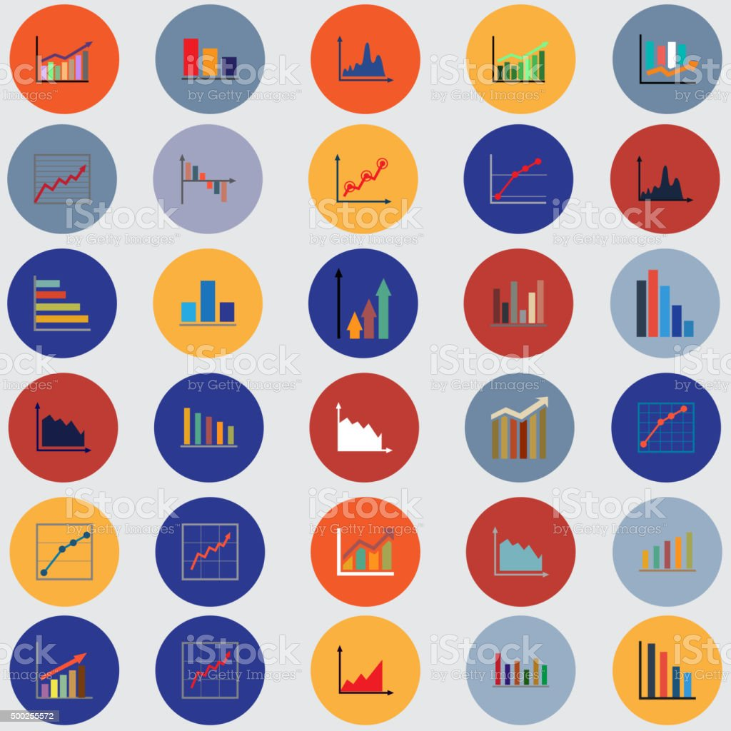 Graphs pie charts items for business statistics and reports stock graphs pie charts items for business statistics and reports royalty free geenschuldenfo Choice Image
