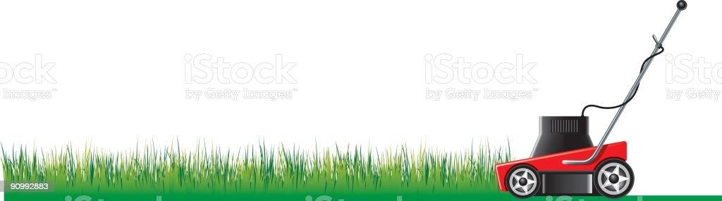 grass cut vector art illustration