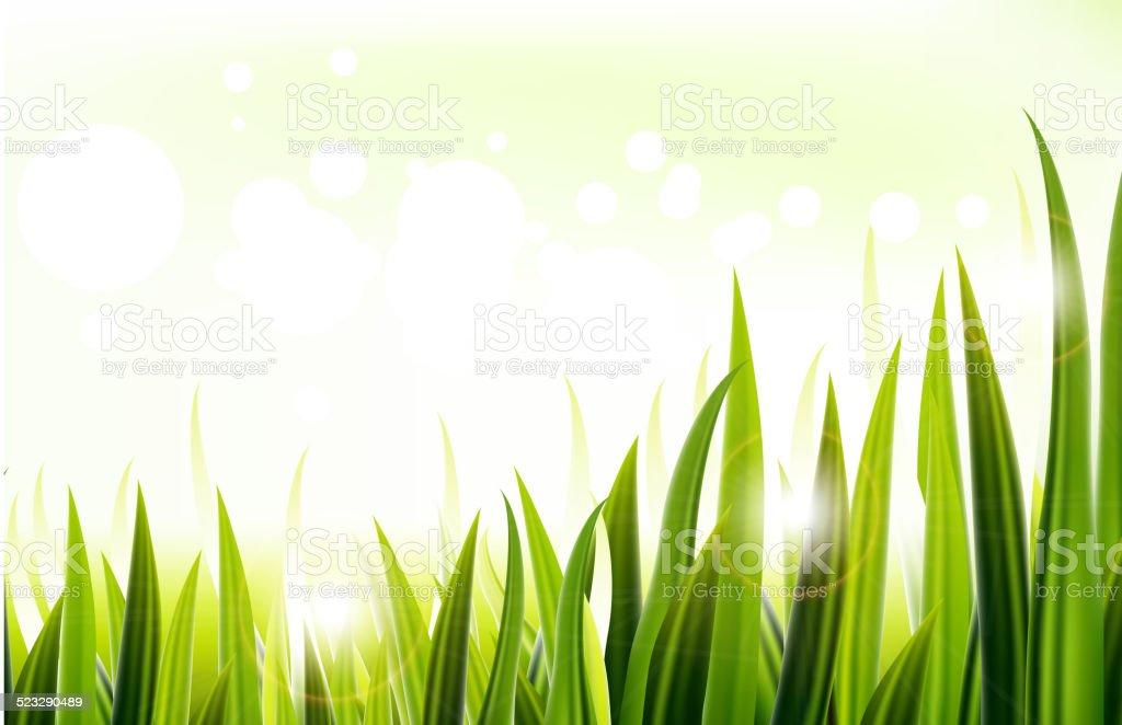 grass for you design vector art illustration