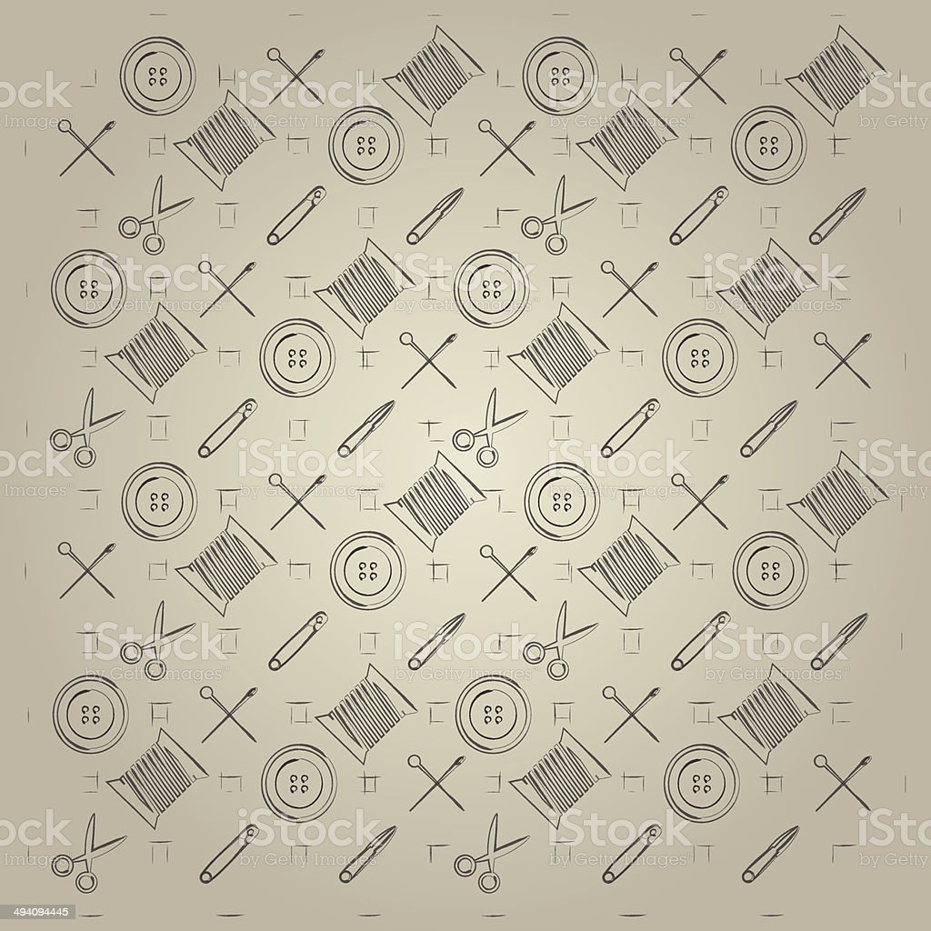 Gray background for handmade royalty-free stock vector art
